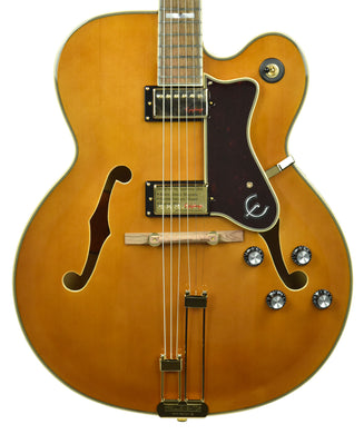Epiphone Broadway Archtop Electric Guitar in Vintage Natural 19091506260