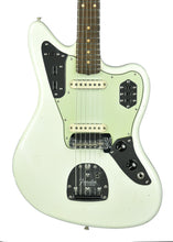 Fender Custom Shop 62 Jaguar Journeyman Relic in Aged Olympic White CZ544929 - The Music Gallery