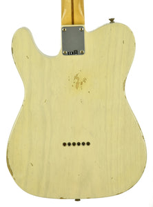 Fender® Custom Shop 1 Piece Ash Body 50's Telecaster Relic in Vintage Blonde SN R17954