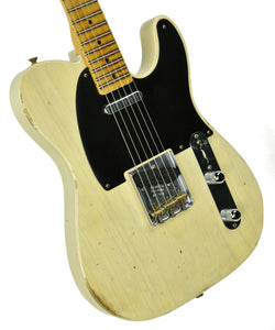 Fender Custom Shop 1 Piece Ash Body Telecaster Relic R17954 - The Music Gallery