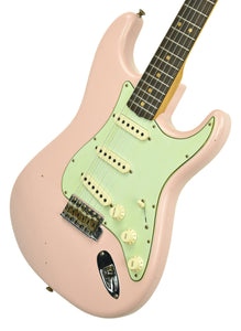Fender Custom Shop 63 Stratocaster Journeyman Relic in Shell Pink R104158