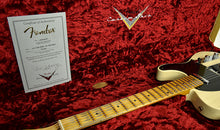 Fender Custom Shop 1 Piece Ash Body 50's Telecaster Relic in Vintage Blonde R17990