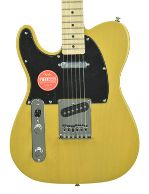 Squier Affinity Telecaster Left Handed Butterscotch Blonde CSSK19002129 - The Music Gallery
