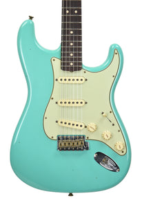 Fender Custom Shop 1963 Stratocaster Journeyman Relic in Seafoam Green R93242 - The Music Gallery