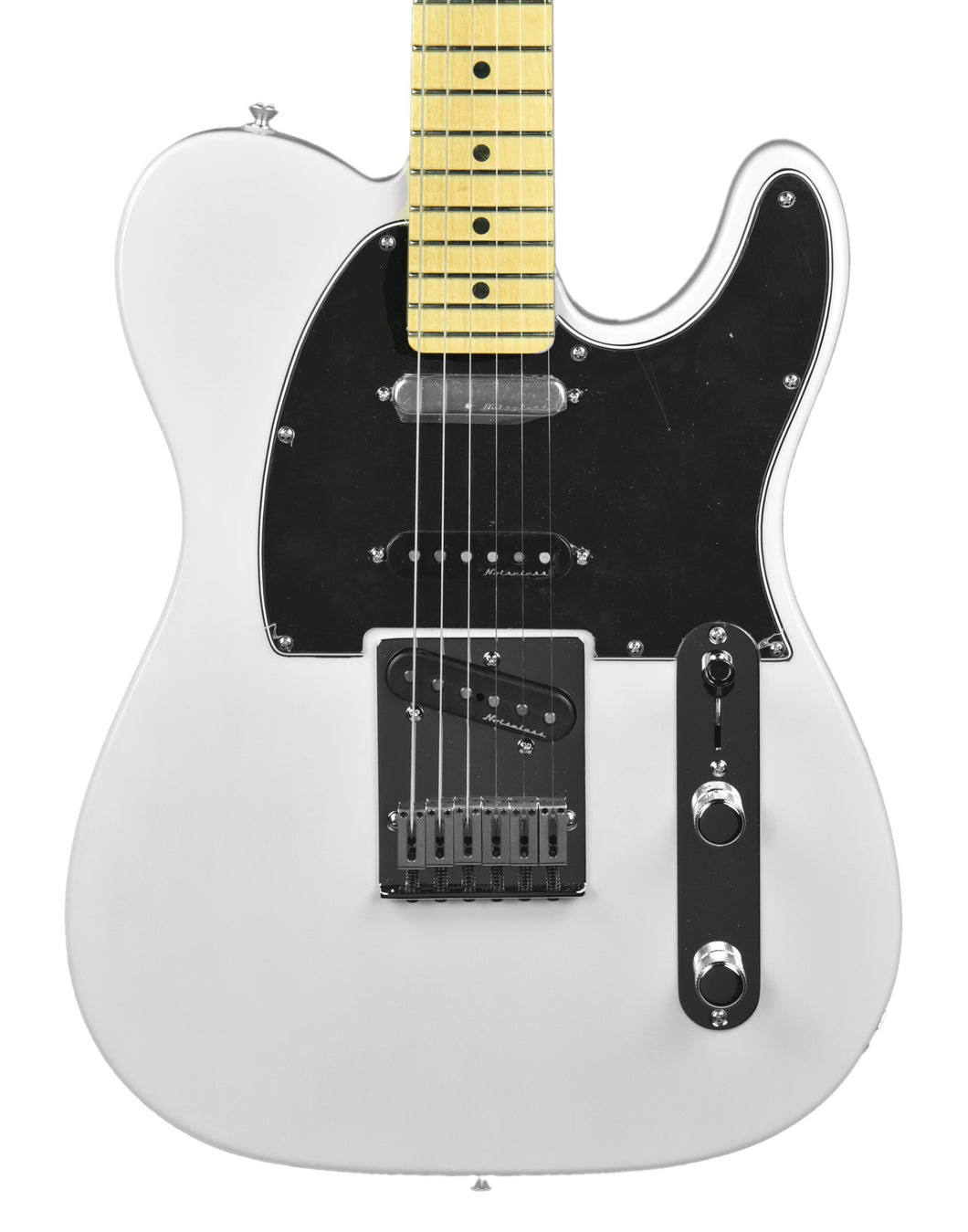 Fender Deluxe Nashville Telecaster in White Blonde MX19176683