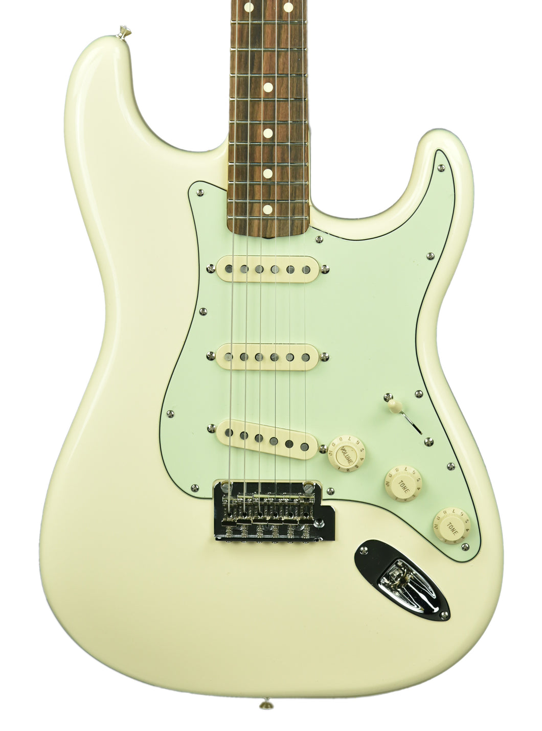 Fender Vintera 60s Stratocaster Modified Olympic White MX19204785 - The Music Gallery