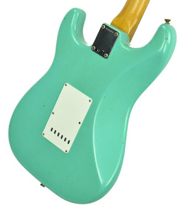 Fender Custom Shop 63 Stratocaster Journeyman Relic Seafoam Green R104068