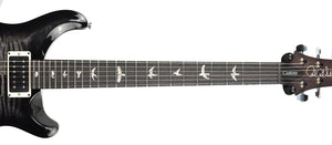 PRS Custom 24 in Charcoal Wrap Smoke Burst 18264541 neck front