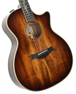 Taylor K24ce Acoustic Electric Guitar front angle 2