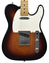 Fender® Player Telecaster in 3 Tone Sunburst front close