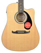 Fender FA-125CE Dreadnought Acoustic Guitar in Natural CFFE1806853