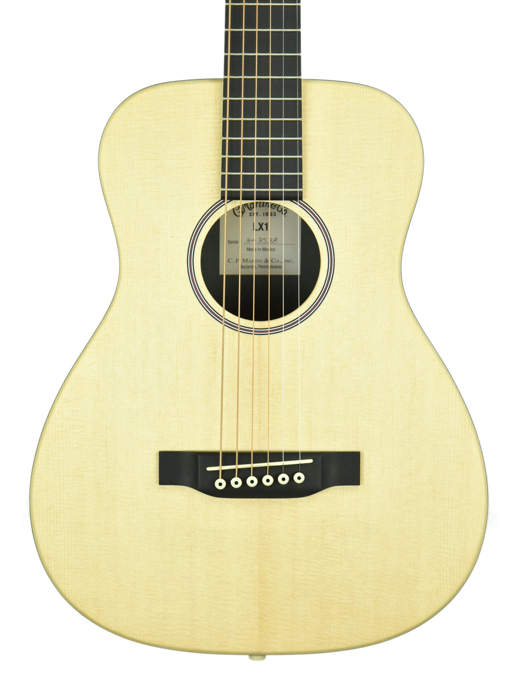 Martin LX1 Little Martin Acoustic Guitar 343473 - The Music Gallery