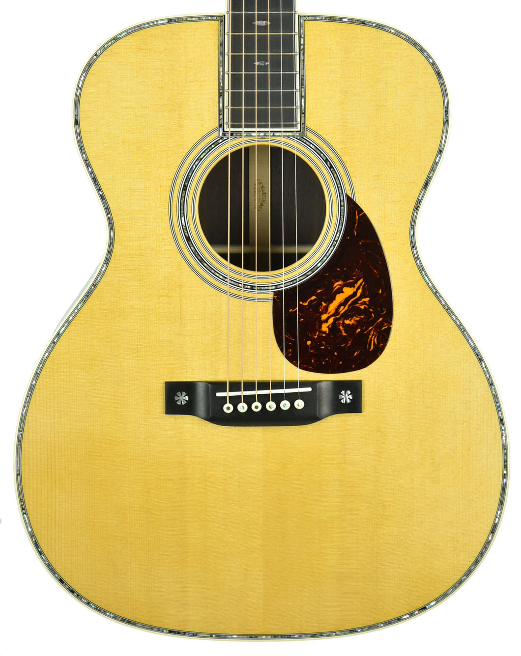 Martin OM-42 Acoustic Guitar in Natural 2354443