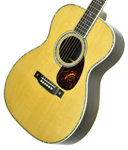 Martin OM-42 Acoustic Guitar in Natural 2354443 - The Music Gallery