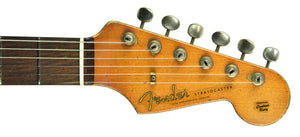 Fender Custom Shop 1962 Stratocaster Relic Masterbuilt by Dale Wilson in 3 Tone Sunburst DW2112 - The Music Gallery