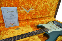 Fender Custom Shop 63 Stratocaster Journeyman Relic Sherwood Green Metallic R91081