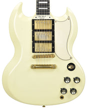 Used Gibson VOS SG Custom in Aged White 070991
