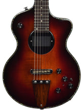USED Rick Turner Model 1 Deluxe in Sunburst 062352 Front Close