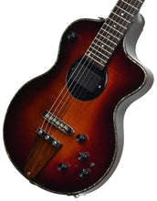 USED Rick Turner Model 1 Deluxe in Sunburst 062352 Front Angle 2