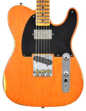 Fender Custom Shop NAMM 52 HS Tele Relic in Sunset Orange Transparent R98030
