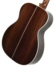 Martin OMJM Acoustic Guitar back angle 2