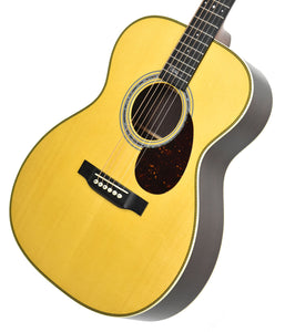 Martin OMJM Acoustic Guitar front angle 2