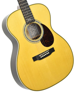 Martin OMJM Acoustic Guitar front angle 1