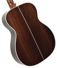Martin OMJM Acoustic Guitar back angle 1