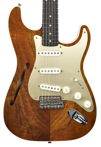 Fender Custom Shop Artisan Thinline Stratocaster Figured Koa CZ538324 Front Close