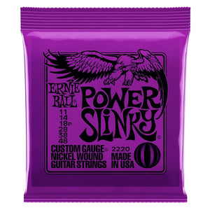 Ernie Ball Power Slinky 2220 .011-.048 Nickel Wound Electric Strings | The  Music Gallery