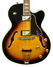 Epiphone Joe Pass Emperor II Pro Vintage Sunburst with Gold Hardware 20061520994