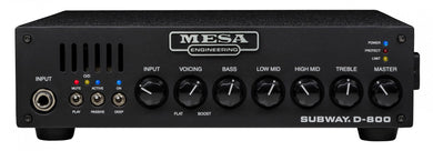 MESA/Boogie® Subway D-800 Bass Head