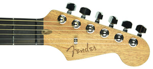 Fender American Acoustasonic Stratocaster in Transparent Sonic Blue US201437 - The Music Gallery