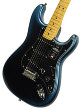 Fender American Professional II Stratocaster in Dark Night US20045051 - The Music Gallery