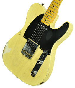 Fender Custom Shop 50s Telecaster Relic One Piece Ash Faded Nocaster Blonde R104568