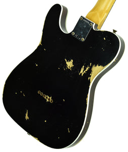 Fender Custom Shop 1960 Telecaster Custom Relic Black R105171