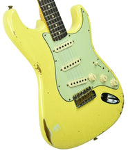 Fender Custom Shop 1961 Stratocaster Relic Graffiti Yellow CZ547296 - The Music Gallery