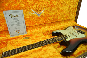 Fender Custom Shop 1963 Stratocaster Journeyman Relic Three Tone Sunburst R105050