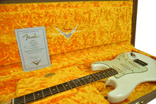 Fender Custom Shop 1963 Stratocaster Journeyman Aged Olympic White R105178