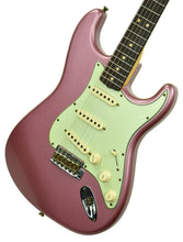 Fender Custom Shop 1963 Stratocaster Journeyman Relic in Burgundy Mist R105190 - The Music Gallery
