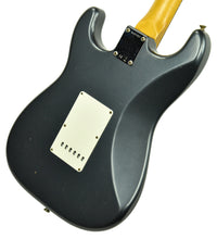 Fender Custom Shop 63 Stratocaster Journeyman Relic in Charcoal Frost Metallic R107957
