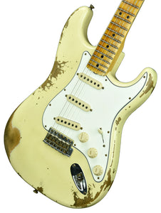 Fender Custom Shop 1969 Stratocaster Heavy Relic in Vintage White w/Matching Headstock R103179