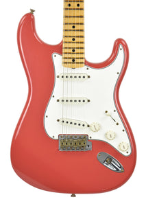 Fender Custom Shop 69 Stratocaster Journeyman Relic in Fiesta Red CZ547459 - The Music Gallery