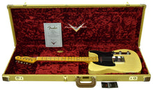 Fender Custom Shop 50s Telecaster Relic 1 Piece Ash Faded Nocaster Blonde R106242