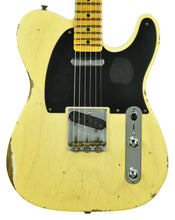 Fender Custom Shop 50s Telecaster Relic 1 Piece Ash in Faded Nocaster Blonde R105918