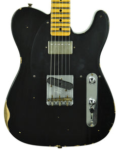 Fender Custom Shop 1952 HS Telecaster Relic in Black R106125