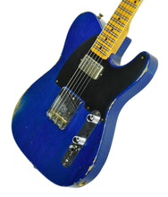 Fender Custom Shop 1952 HS Telecaster Relic in Cobalt Blue R104427