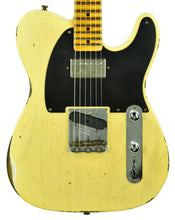Fender Custom Shop 52 HS Telecaster Relic in Faded Nocaster Blonde R104323 - The Music Gallery