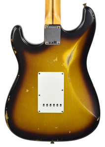 Fender Custom Shop 57 Stratocaster Relic in 2 Tone Sunburst R106867