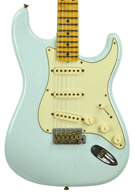 Fender Custom Shop 59 Special Stratocaster Journeyman Relic in Sonic Blue CZ549798